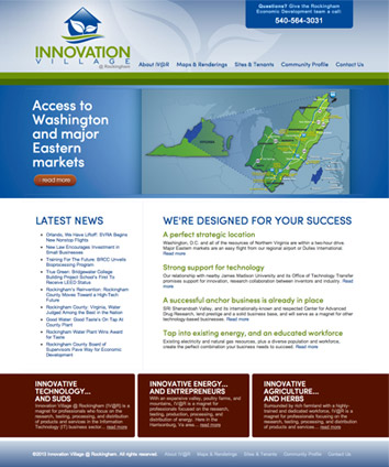 Innovation Village at Rockingham homepage