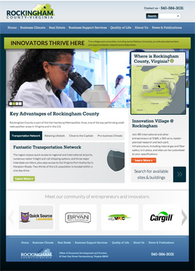 New Rockingham County economic development website